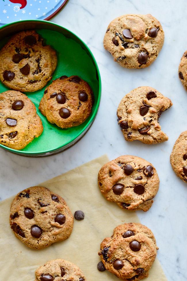 Cherry Garcia Chocolate Chip Cookies
