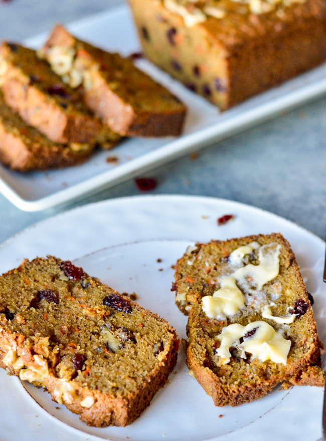 Paleo Morning Glory Bread Close