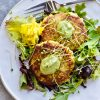 Vegetable Fritters Alone