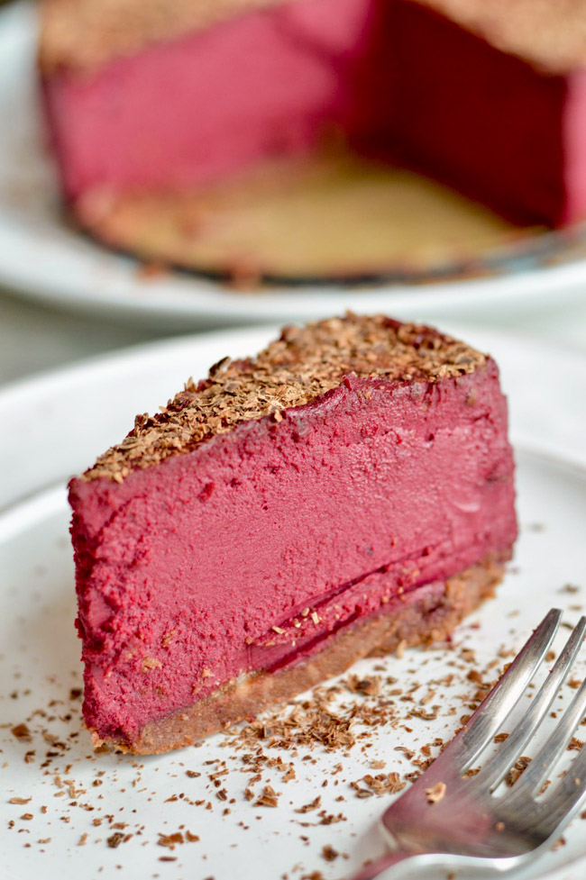 Red Velvet Cheesecake Cut