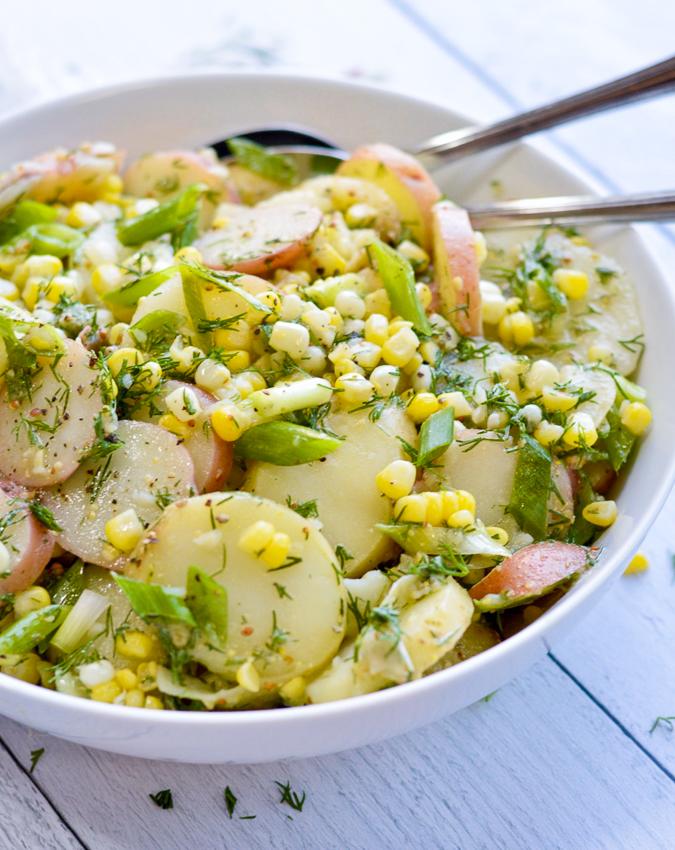Light Summer Potato Salad Recipe