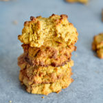 Nut Free Pumpkin Breakfast Cookies Stacked
