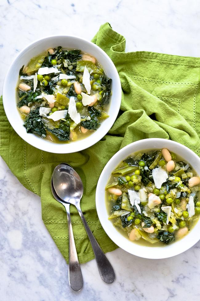 Minestrone Verde 2 bowls