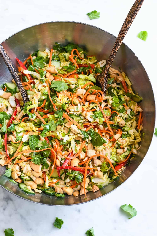 Vietnamese Chicken Salad bowl